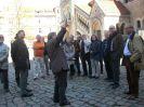 2. Tag auf dem Burgplatz Start der Stadtführung
